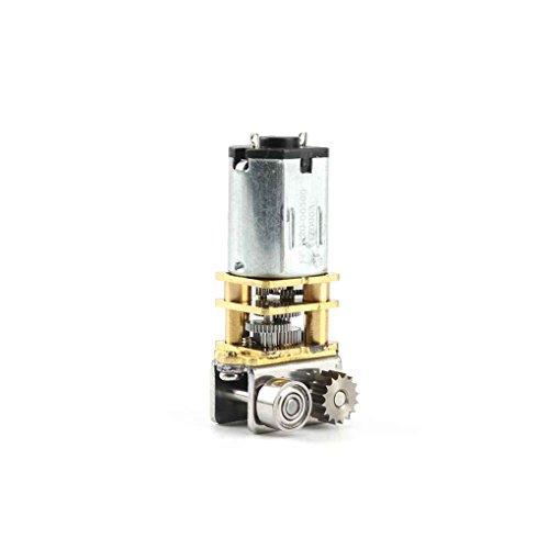 winklig N20 Getriebemotor Selbstsichernde Verzögerung Motor für 3D-Druck-Feder Fensteröffner Türheber ()