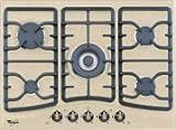 Whirlpool Europe PH AKM394AE Piano Cottura Country, Metallo, Avena, 50x68x5.1 cm
