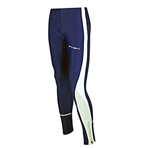 Airtracks Winter Funktions Laufhose Lang für Damen oder Herren – Thermo Running Tight – Warm – Atmungsaktiv – Reflektoren