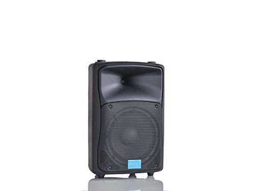 MPE -cassa attiva bi amplificata 400 watt musicali 8' 20 cm MADE IN ITALY acustica diffusore piano bar dj karaoke discoteca PA mod: DJ-8AL