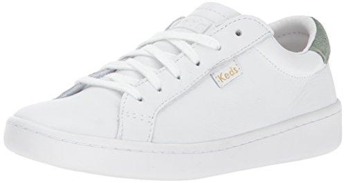 Keds Damen Ace Core Leather Oxfords, Weiß (White/Sage), 37 EU
