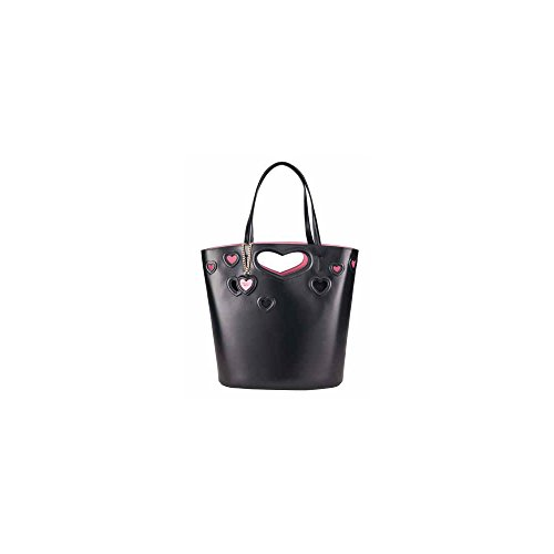 Borsa Shopping bag Tosca Blu Linea Amore TS1785B71 NERO