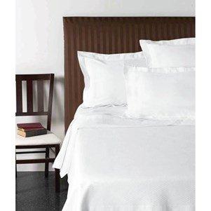 Drap plat Blanc - 270x300cm - 100% coton
