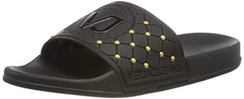 VERSACE JEANS COUTURE Damen Shoes Zehentrenner, Schwarz (Nero 899), 40 EU