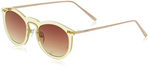 Ocean Eye, Montures de lunettes Mixte Adulte, Jaune (Giallo Trasparente), 55