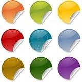 #5: Round Plain Sticker (0.5