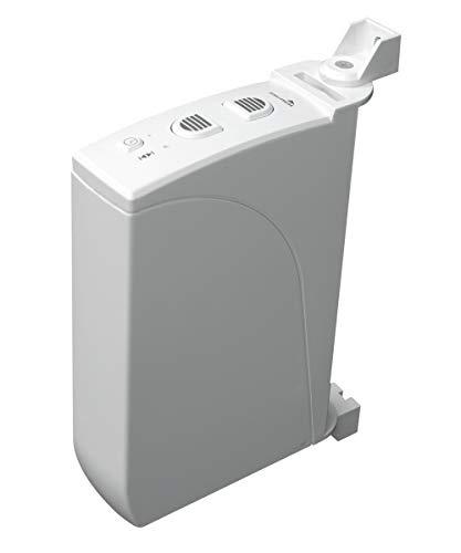 Schellenberg 22735 elektrischer Gurtwickler RolloDrive 35, weiß / Aufputz Gurtwickler für 15 mm Gurt-Breite, Zugkraft 12 kg / Rolladenantrieb mit Zeitautomatik / Inkl. Netzteil