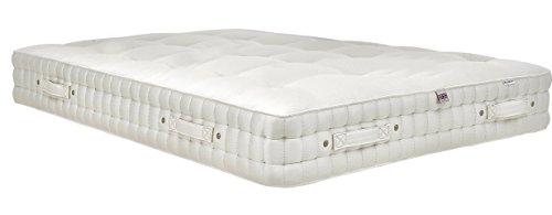 Haskins-Betten Bett Matratze, Britische Wolle, Kaschmir and Alpaca, Weiß, 200 x 200 x 32 cm