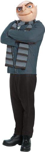 Rubie's Offizielles Herren-Kostüm, Design: Ich – Einfach unverbesserlich 2 - Gru (Minion Kostüme Für Erwachsene)