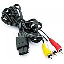 Alcoa Prime NEW STEREO AV A/V CABLE FOR NINTENDO 64 N64 / GAMECUBE