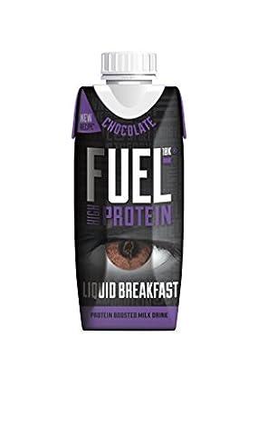 FUEL10K 330ml Chocolate Breakfast Milk Drink - Pack of 8