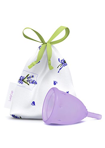 LadyCup Touch of Lavender S(mall) Menstruationstasse klein -034