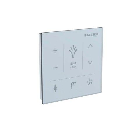 Preisvergleich Produktbild Geberit Wandbedienpanel, zu Geberit AquaClean Mera, Glas weiß