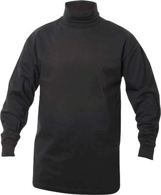Rollkragen - Shirt, der Trend dieser Saison. Super Shirt in Schwarz zum Unterziehen oder auch zum Überziehen in der Grössen L (Rollkragen Schwarzen Shirt)