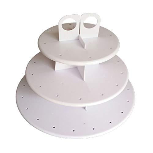 Cup Cake Stands Removable Runde Lutscher Halter-Tabellen-Hochzeit Geburtstag-Feiertags-Party-Backen-Werkzeuge verziert ()