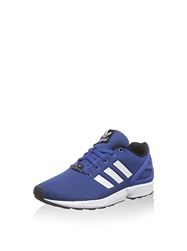 adidas Zx Flux K, Scarpe Low-Top Bambino Blue
