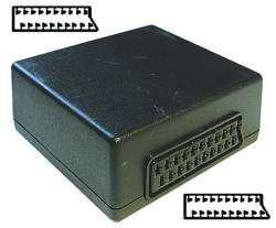 Preisvergleich Produktbild VSE 610162 Scart-Doppelkupplung,  Lose