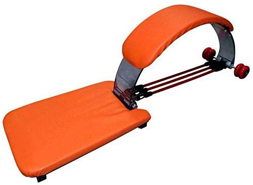 AB FL Profesional Entrenamiento Abdominal musculo, para Abdominales, Gimnasio en casa facil de Llevar (Naranja)