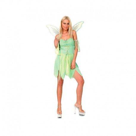 Karneval Damen Kostüm Fee grün