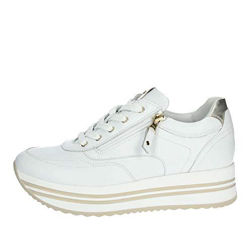 Nero Giardini P907752D Sneakers Donna Bianco 39