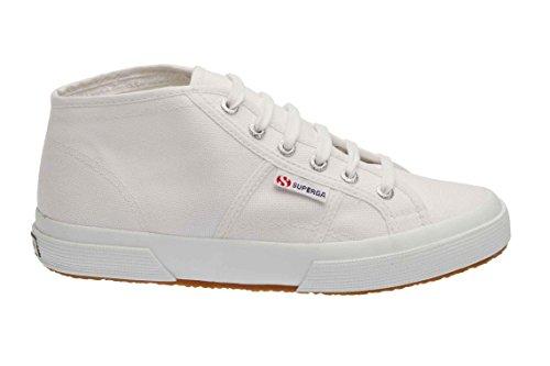 Superga 2754 Cotu, Herren Sneaker 901 WHITE