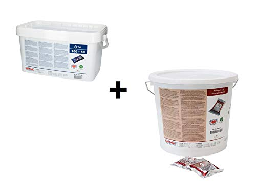 RATIONAL 100 Pezzi pulitore TABS + 150 Pezzi Care-TABS F. SelfCookingCenter SCC (56.00.210&56.00.562)