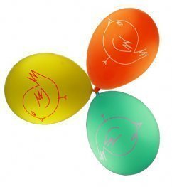 """""""Charlie Lola Party Balloons, pack of 12"""""""