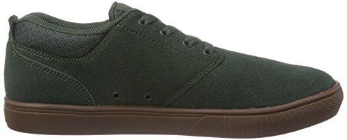 Etnies Jameson Mt, Chaussures de Skateboard Homme Vert (green/gum)