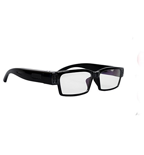 Flylinktech® Spy Glasses Brille HD 720P 5MP