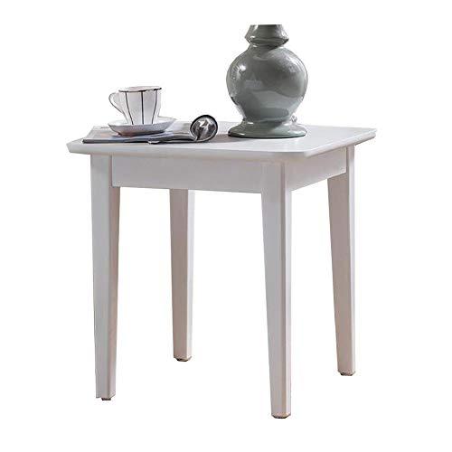 Tables CJC Consoles D'appoint, Canapé Stockage Rack Bois Jambes, Stable Solide Construction, Facile Assemblée (Couleur : Blanc)