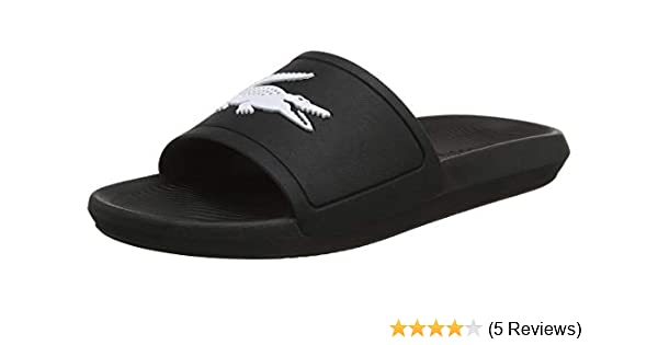 4dfcdc897 Lacoste Men s Croco Slide 119 1 CMA Open Toe Sandals  Amazon.co.uk ...