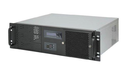 19″ Server Gehäuse 3HE / 3U – IPC-G338 – nur 38cm kurz