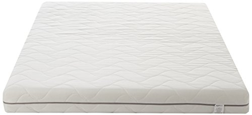 AmazonBasics - Materasso a 7 zone in espanso, extra comfort 80 x 190 cm