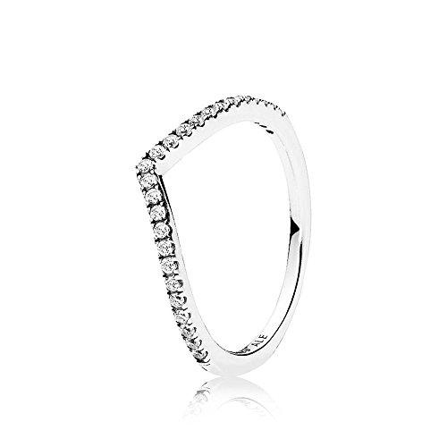Pandora piercing ad anello donna argento - 196316cz-54