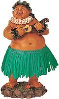 Leilani Dashboard Hula Doll Local Boy with Ukulele 7 by KC Hawaii