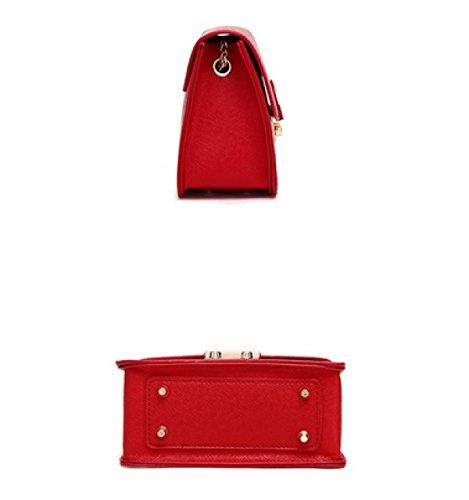 LAIDAYE Damen Schultertasche Messenger Bag Paket 4