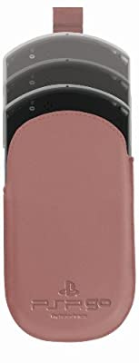 Official Sony Leather Slip Case - Pink (PSP GO)