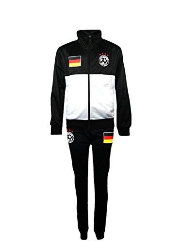 Juego de chándal para niño, equipación de fútbol, talla para edades de 4-12años, color Alemania, tamaño (5-6 Años)