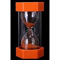 Fendii - Reloj de Arena con Temporizador de Seguridad para niños, diseño cilíndrico, Orange 20min, 20min