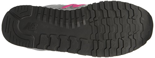New Balance NBKV500BAP Sneaker, Bambino Grey/Pink