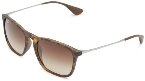 ray-ban-womens-chris-rb4187-wayfarer-sunglasses-brown-braun