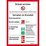 Schild PVC Brandschutzordnung 29