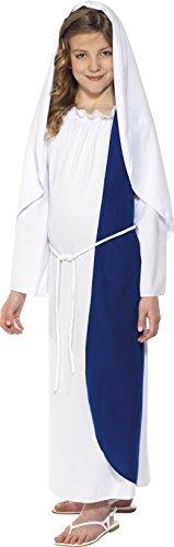 Kostüm Maria Weiß mit Kleid und Kopfteil, Large