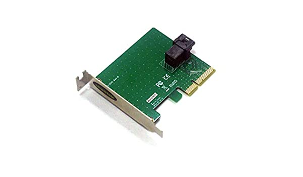 shentek 1 Port U.2 Up to 30Gbps to PCIe Adapter PCI Express Card SFF-8643