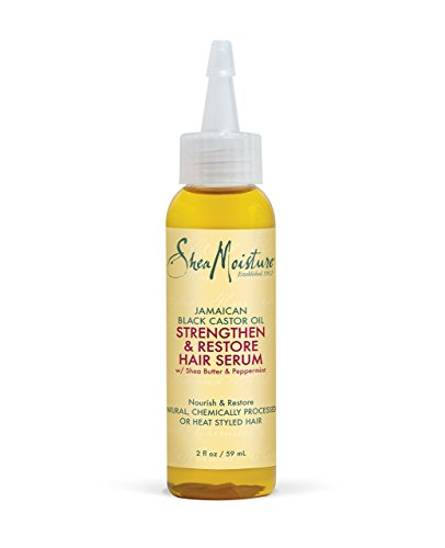 Textbooknova: Shea Moisture Jamaican Black Castor Oil Strengthen Grow and Restore Hair Serum 59 ml MOBI