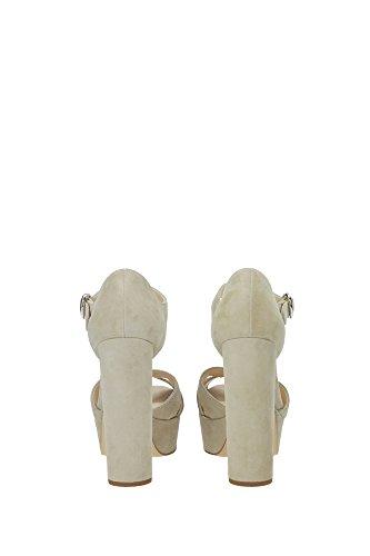 1XP732QUARZO Prada Sandale Femme Chamois Beige Beige
