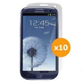 totaldigitalstores® - 10 PACK LCD Screen Protectors for Samsung Galaxy S III / Galaxy S 3 - SIII S3 / THE NEXT GALAXY