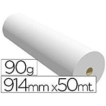 Fabrisa 7910509 - Rollo de papel para plóter, 90 g, ...