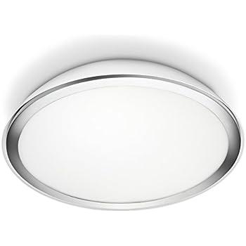 Philips Plafonnier LED Cool Eclairage salle de bain Blanc Métal