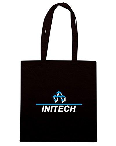 T-Shirtshock - Borsa Shopping TGAM0039 Initech Corporation Nero